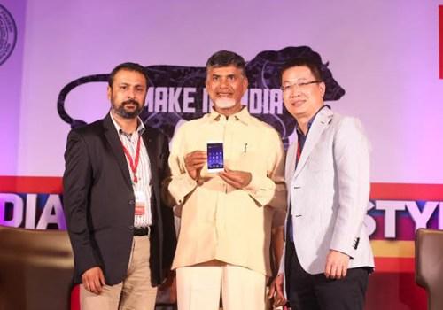 जियोनीले भारतमा निर्माण गरेको पहिलो स्मार्टफोन 'एफ १०३'