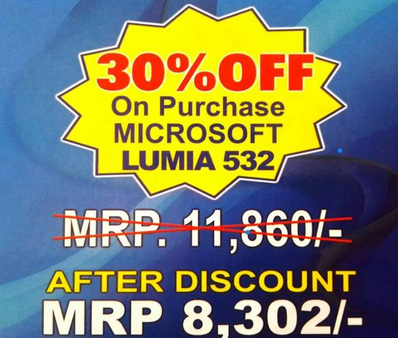 Lumia Discount Offer