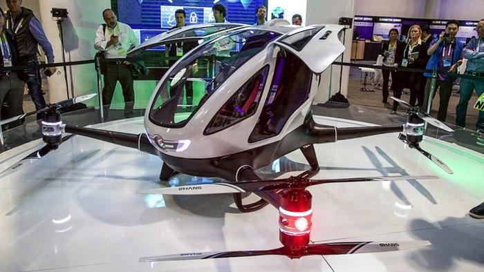 २१ करोड रुपैंया मूल्यपर्ने ड्रोन यस्तो छ, मानिसले पनि यात्रा गर्न सक्ने