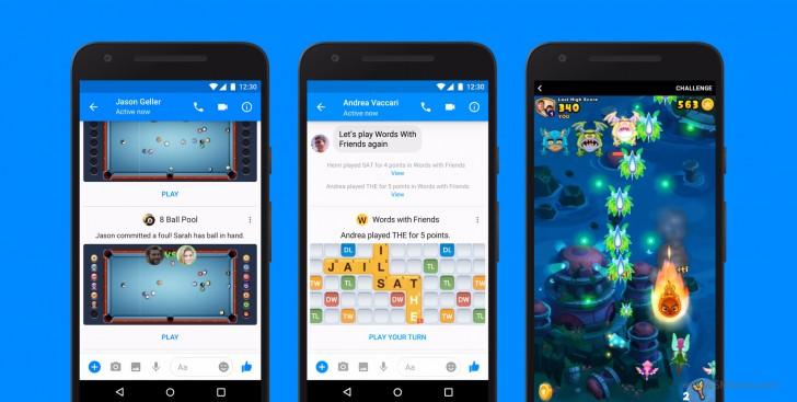 फेसबुकले दियो इन्स्टेन्ट गेम्सको सुविधा, मेसेन्जरबाटै साथीसँग गेम खेल्न सकिने