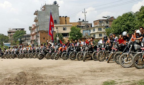 आईएमई अटोमोटिभ्सले गर्यो 'रेनगेट स्पोर्ट' मोटरसाइकल र्याली