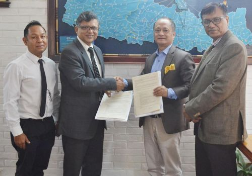 नेशनल बैंकिङ्ग ईन्ष्टिच्युट र एभरेष्ट बैंकबीच तालिम संचालनका लागि सम्झौता