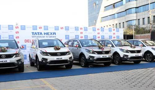 टाटा मोटर्सद्धारा एयूभी हेक्जा बिक्री शुरु