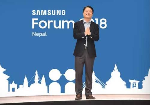 नेपालमा पहिलो पटक 'सामसङ फोरम २०१८' कार्यक्रम आयोजना