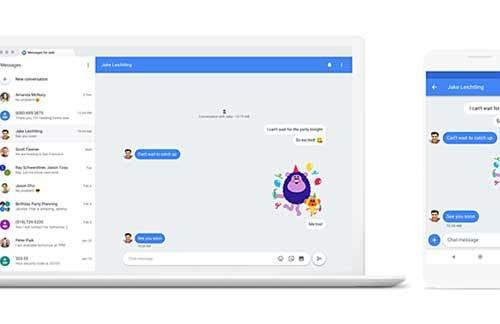 गूगलको मेसेजेज एप वेब भर्सनमा उपलब्ध, नयाँ फीचरहरु समावेश