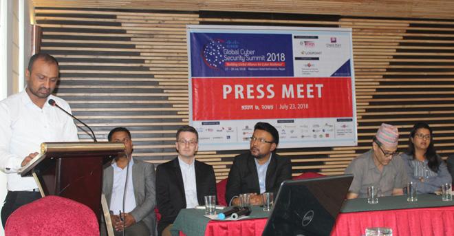 नेपालमा पहिलो पटक अन्तर्राष्ट्रिय स्तरको 'सिस्को ग्लोबल साइबर सेक्युरिटी समिट' हुँदै