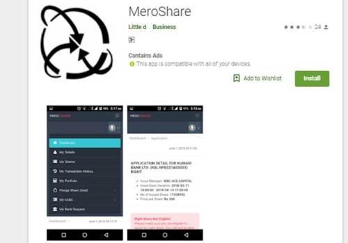 'मेरो सेयर' मोबाइल एप अबैधानिक, एप प्रयोग गरे डाटा चोरिने