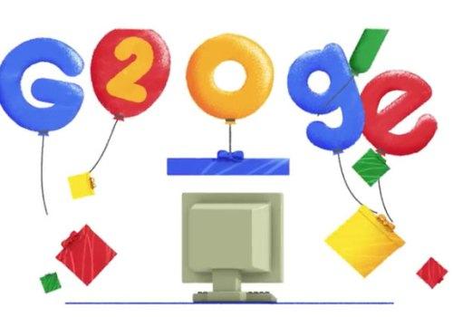 सर्च इन्जिन गूगल २० औं जन्मोत्सव मनाउँदै, हेर्नुस २० वर्षे यात्राको विशेष डूडल