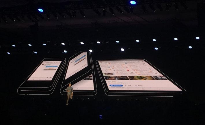 सामसंगको फोल्डेबल स्मार्टफोन यस्तो छ, नयाँ 'वान यूआई' यूजर इन्टरफेस पनि सार्वजनिक