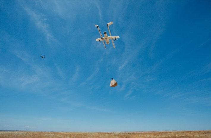 ड्रोनबाट शपिंगको सामान उपभोक्ताको घरसम्म 'होम डेलिभरी' हुने, गूगलले अष्ट्रेलियामा सेवा शुरु गर्दै