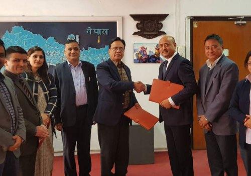 आइएमई जनरल इन्स्योरेन्स र नेपाल बैंक बिच बीमा सेवा सम्झौता