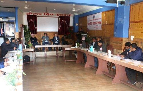 सातवटै प्रदेशमा सञ्चारग्राम- सञ्चार सचिव गुरुङ