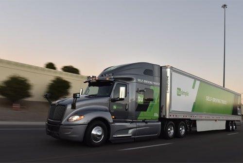 सेल्फ ड्राइभिङ्ग ट्रकबाट हुलाक सेवा दिँदै अमेरिकी पोस्टल सर्भिस