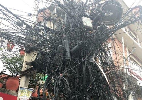 विद्युतको पोल र ओपीजीडब्लू फाइबरको नयाँ भाडा दर: इन्टरनेट सेवा प्रदायकको लागि थप लागत