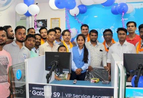सामसंग मोबाइलको नयाँ सेवा केन्द्र जनकपुरमा संचालन