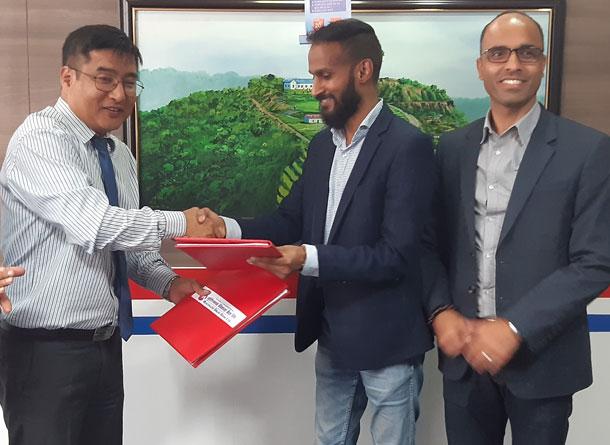 मुक्तिनाथ विकास बैंक र आइएमई पेबीच सम्झौता
