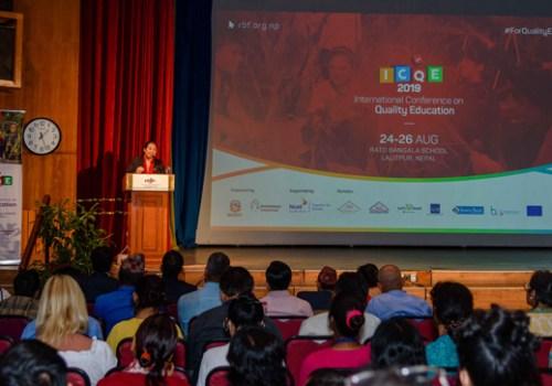 दोस्रो अन्तर्राष्ट्रिय गुणस्तरीय शिक्षा सम्मेलन २०१९ का लागि एनसेलको सहकार्य