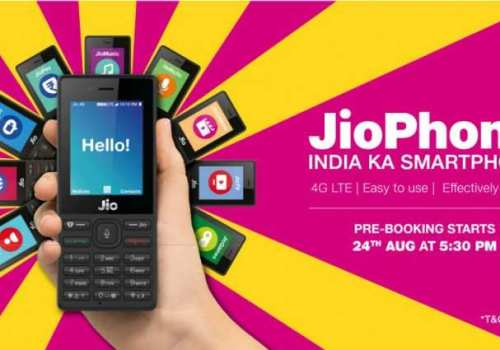 भारतीय मोबाइल कम्पनी रिलायन्स रिटेलले फोरजी प्रविधियुक्त फीचर फोन ल्याउने