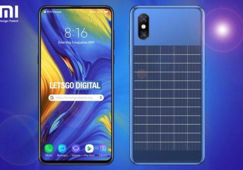शाओमीको सोलार पावरयुक्त स्मार्टफोन, अण्डरस्क्रीन क्यामराका साथै अण्डरस्क्रीन फिंगरप्रिन्ट सेन्सर