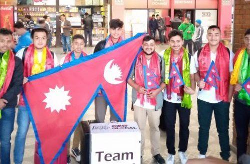 अन्तर्राष्ट्रिय रोबोट ओलम्पिक्समा प्रतिस्पर्धामा नेपाल सहभागी हुने, यन्त्र ७.० बिजयी टिम दुबई पुग्यो