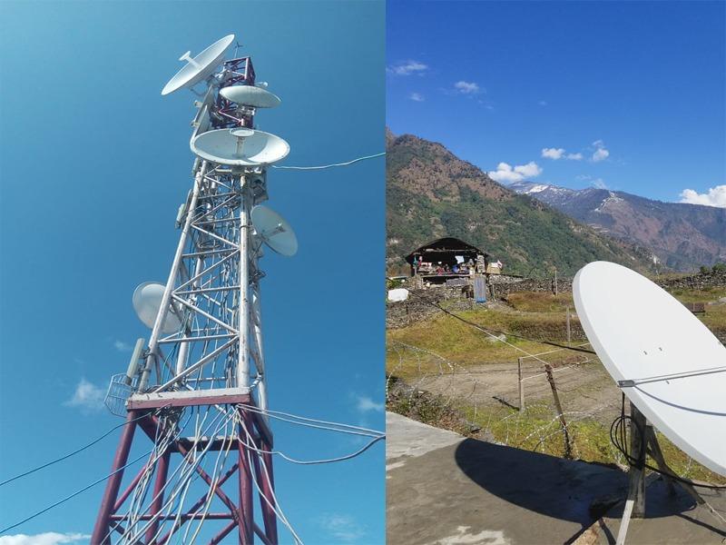संखुवासभाको भोटखोला गाउँपालिकामा इन्टरनेट सेवा शुरु, भिस्याट प्रविधिमार्फत सेवा उपलब्ध