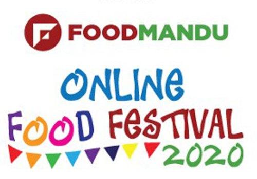 फुडमाण्डु अनलाइन फूड फेस्टिवल शुरु, रु.१ मै अनलाइनबाट खानेकुरा पाईने