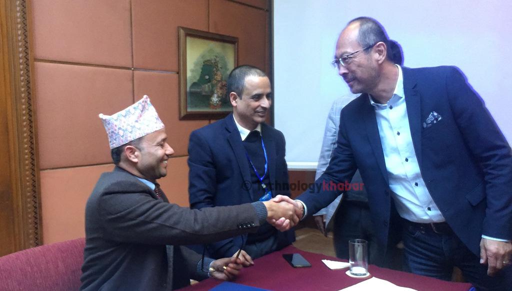 १८०० मेगाहर्ज ब्याण्डमा पाएको फ्रिक्वेन्सी प्रयोग गर्न प्राविधिक तयारी गर्दै नेपाल टेलिकम