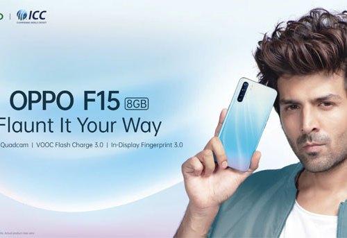 ओपो एफ १५ स्मार्टफोन सार्वजनिक, ५ मिनेट चार्ज गर्दा २ घण्टा चलाउन सकिने