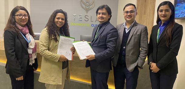 नबिल बैंक र टेस्ला डाईगोनोस्टिक क्लिनिक बिच बिशेष सम्झौता पत्रमा हस्ताक्षर