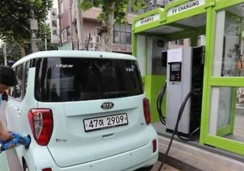 दक्षिण कोरियामा हजारौं पेट्रोल पम्पमा इलेक्ट्रिक भेहिकल चार्जिङ्ग स्टेशन स्थापना गर्ने योजना
