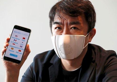 जापानी स्टार्टअप कम्पनीले बनायो स्मार्ट फेस मास्क, फोन कल र भाषा अनुवाद गर्न सकिने