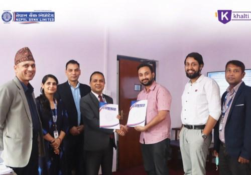 'खल्ती' डिजिटल वालेट र नेपाल बैंकबीच सहकार्य, अब बैंक खाताबाट सिधै भुक्तानी गर्न सकिने