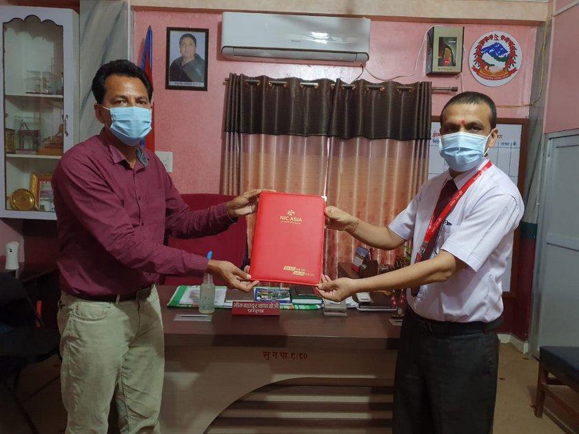 एनआईसी एशिया बैंकले १९ विद्यालयलाई दियो सफ्टवेयर, प्रविधिमैत्री विद्यालय बनाउन सहयोग