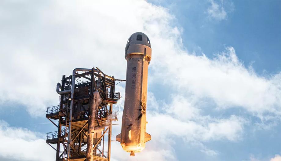 जेफ बेजोसको रकेट कम्पनीद्धारा एक बर्षमा आफ्नो पर्यटन अन्तरिक्ष यानको पहिलो परीक्षण