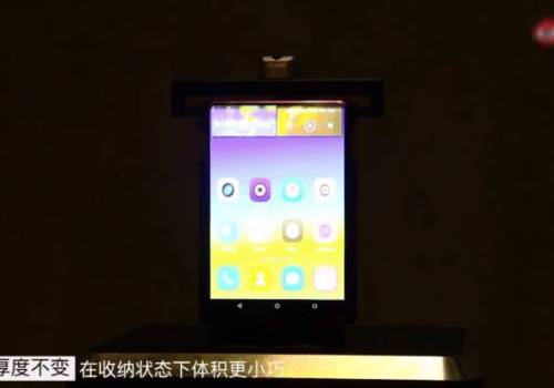 टिसिएलले तयार पारेको रोलेबल स्मार्टफोन यस्तो छ, हेर्नुस् भिडियोमा विशेषताहरु
