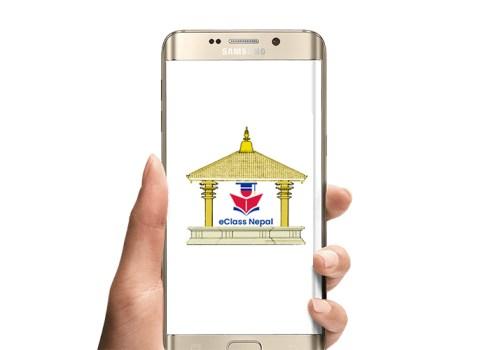कक्षा १० सम्मका विद्यार्थीका लागि ईक्लास नेपाल एप सार्वजनिक