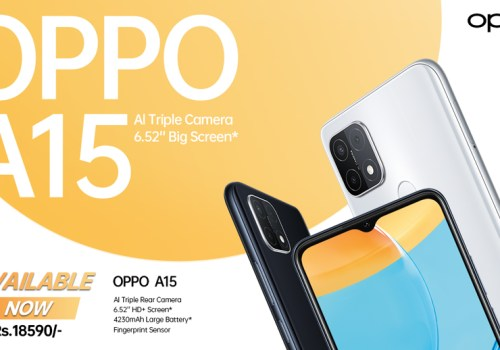 OPPO Launches A15 with AI Triple Camera and 6.52″ Big Screen