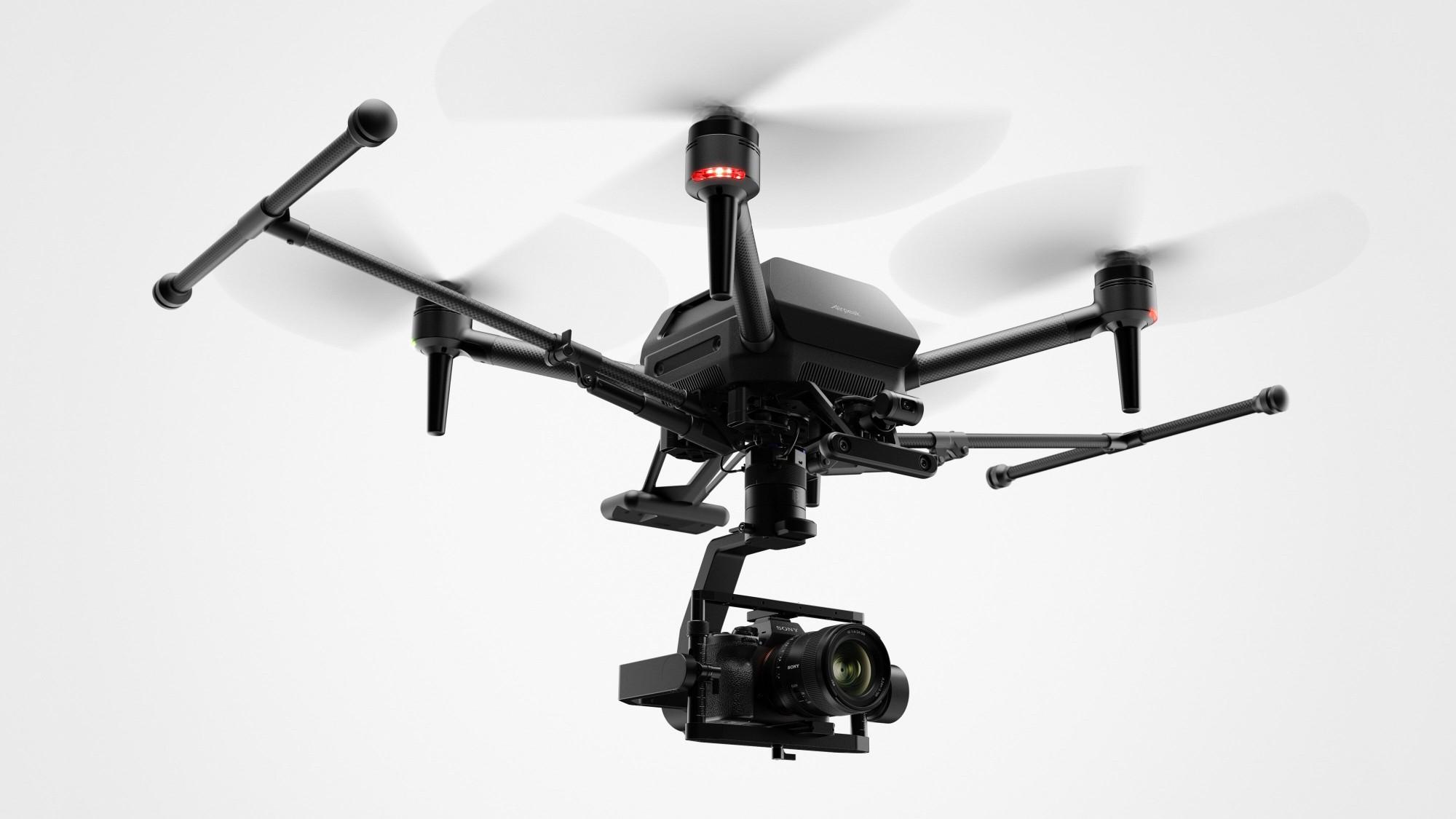 सोनीको पहिलो ड्रोन 'एयरपिक' अनावरण, सोनी अल्फा मिररलेस क्यामरा बोक्न सक्ने