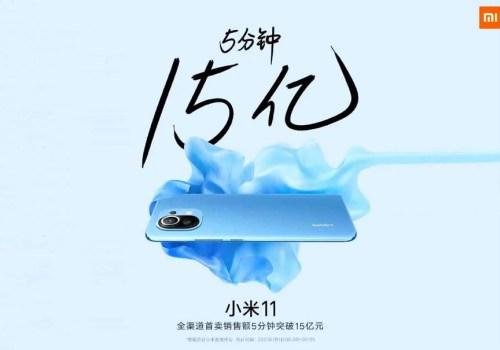 शाओमी एमआई ११ को बिक्री खुल्ला, ५ मिनेटमै बिक्यो साढे तीन लाख युनिट