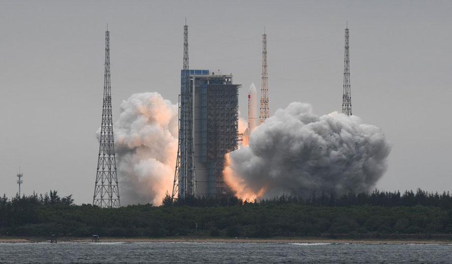 चीनको कोर स्पेस स्टेशन मोड्युलको इन-अर्बिट परीक्षण पूरा