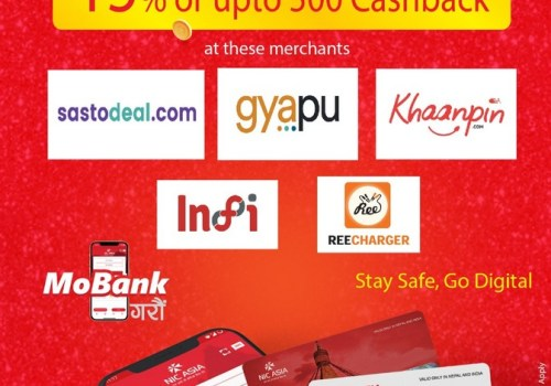 एनआईसी एशिया बैंकका ग्राहकलाई यी अनलाइनबाट किनमेल गर्दा १५ प्रतिशत छुट