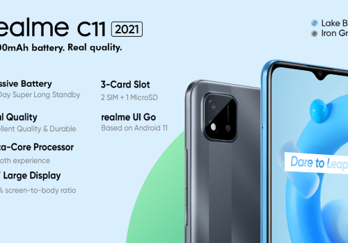 Realme C11 2021 launched in Nepal