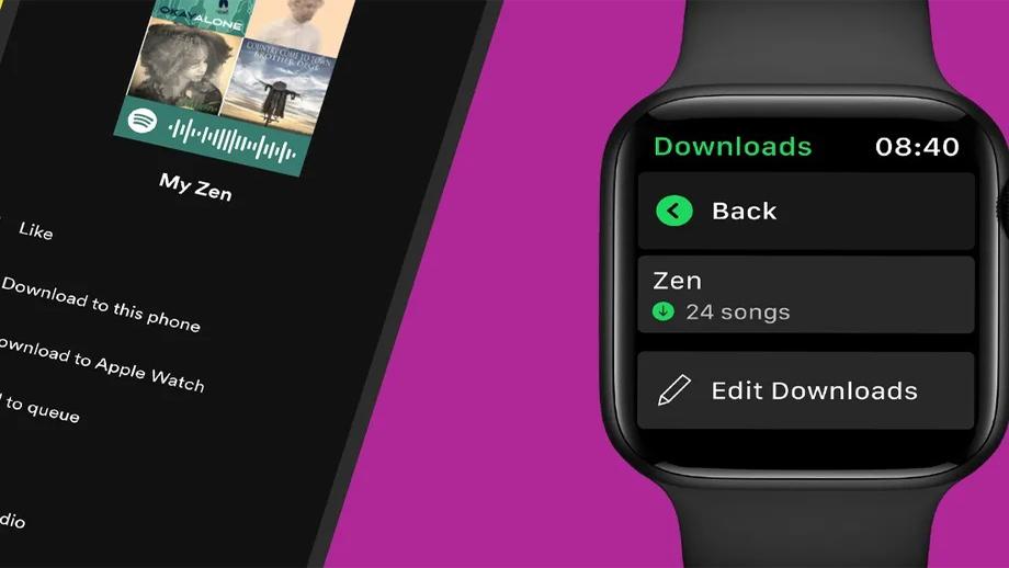 स्पोटीफाइले थप्यो एप्पल वाचमा अफलाइन म्युजिक डाउनलोड फिचर