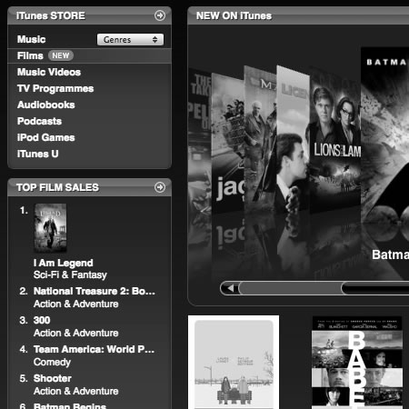 iTunes Movies in the UK - hmmmm