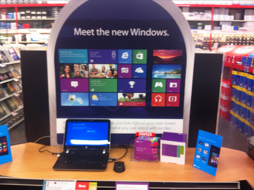 How to sell a Windows 8 laptop, or not...