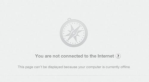 Safari Not Connected