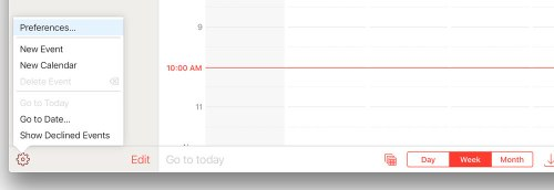 set Calendar invites to go to your email instead.