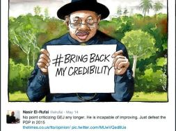 Screenshot of Twitter posting by Nasir El-Rufai, ex-FCT Minister