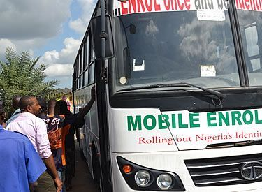 NIMC mobile van