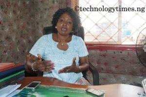 Mrs. Nike Shittu, the Managing Director of Mojoy Computers
